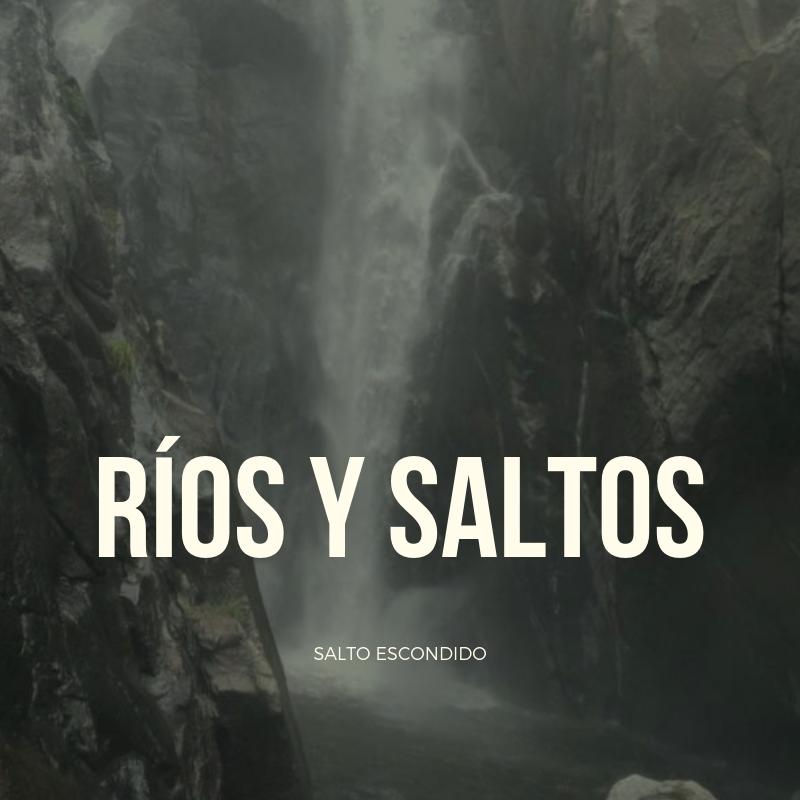 Ríos, saltos y cascadas en San Francisco del Monte de Oro