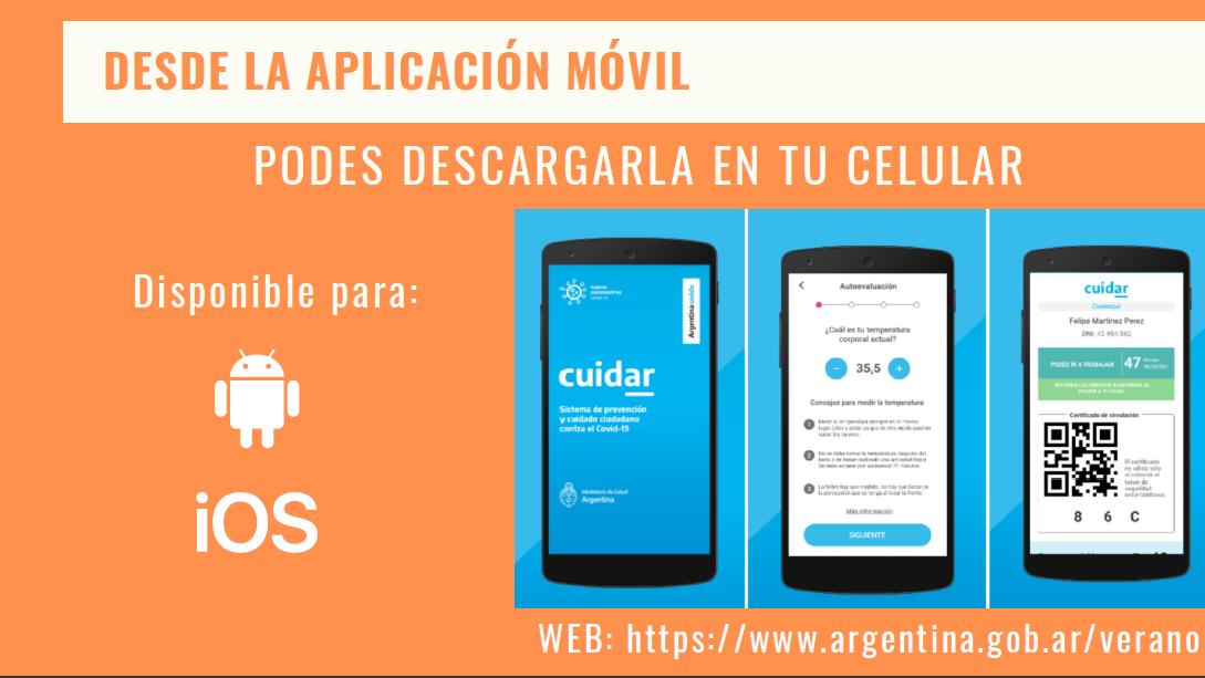 App cuidar en tu celular
