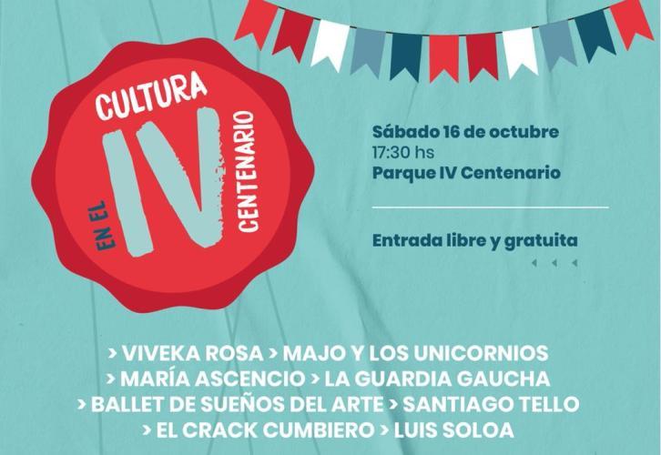 Cultura en el Parque IV Centenario